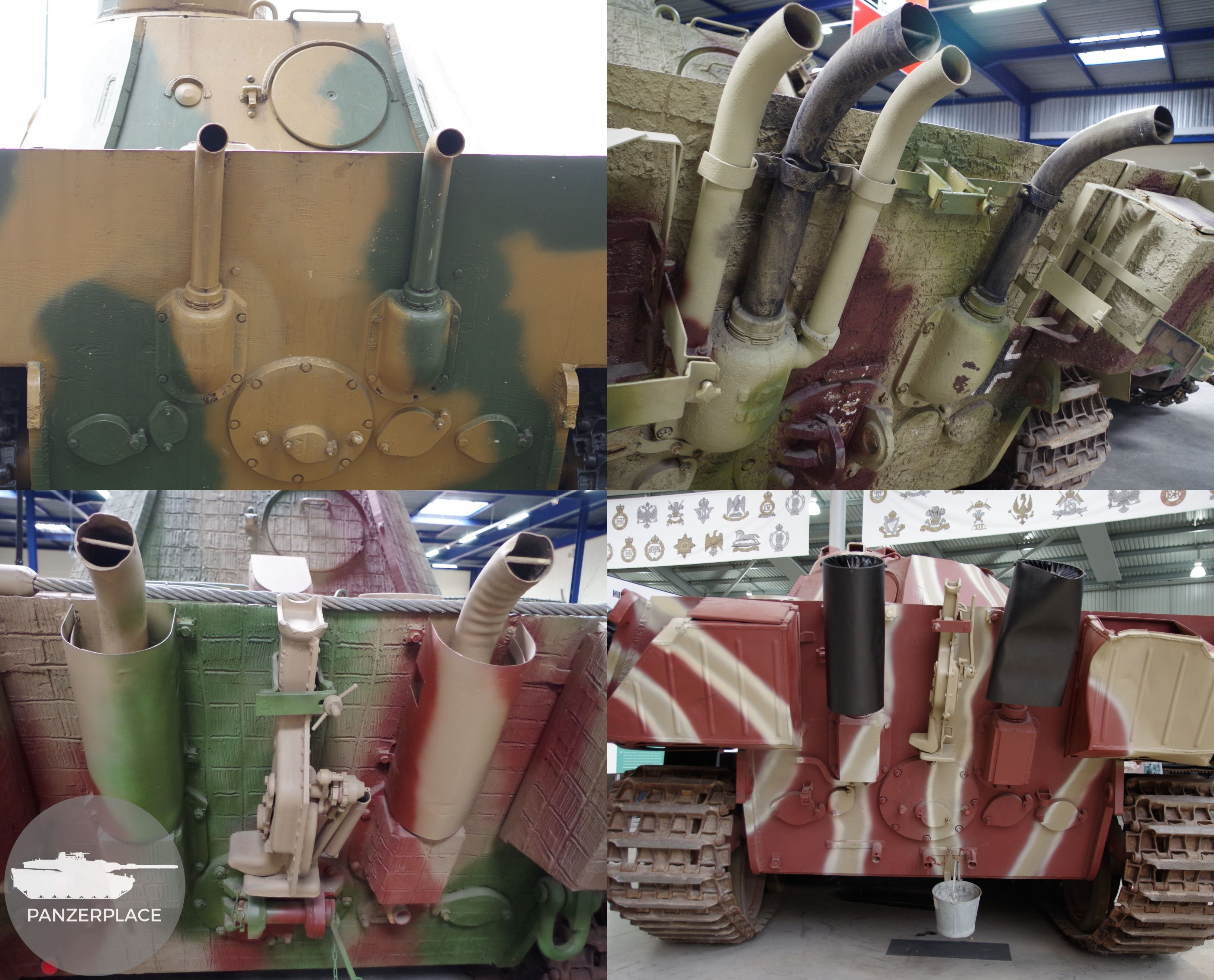 Problematic exhausts – PanzerPlace