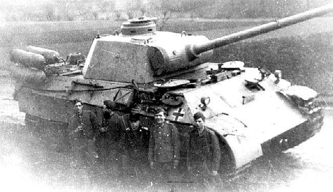 fahrschulpanzer V tank