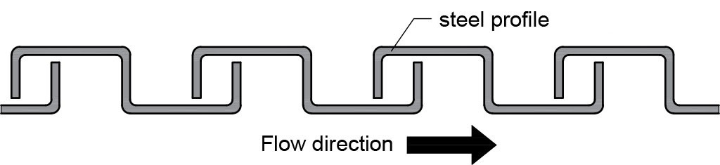 Metal hose