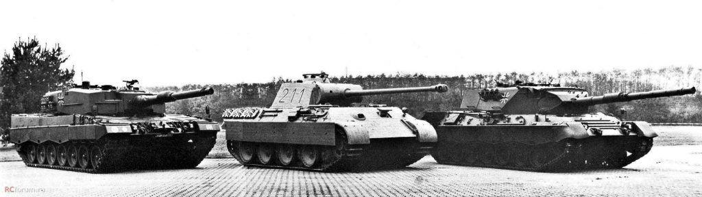 Panther at Krauss Maffei 1979