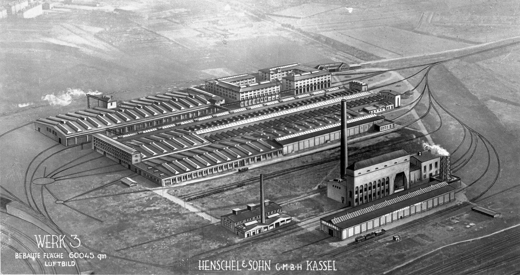 Henschel Kassel Mittelfeld 1935