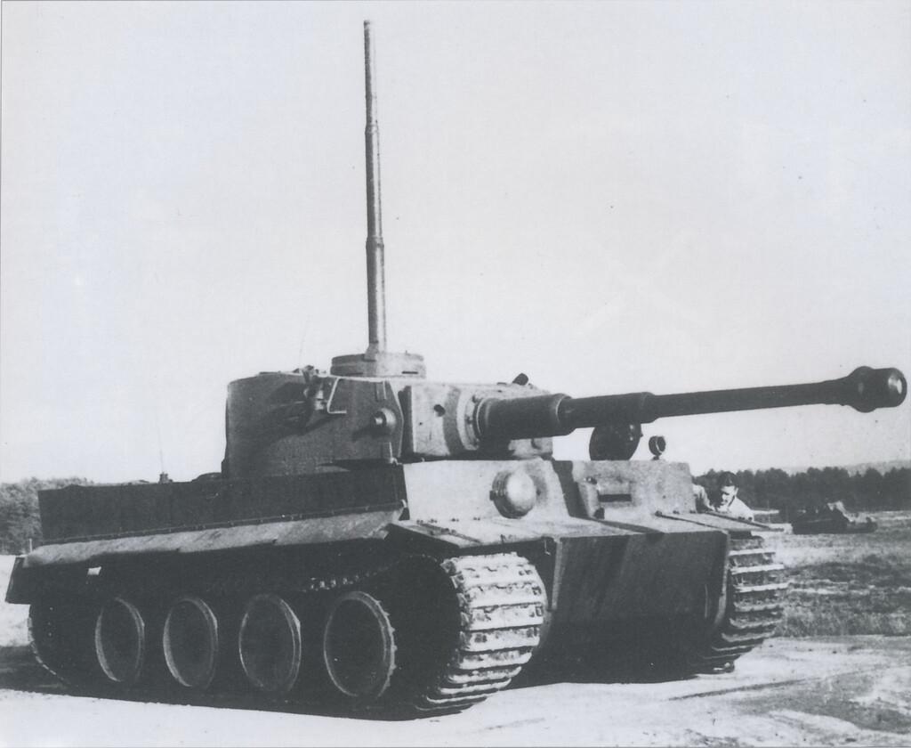 Tiger Panzer 4.5m wading