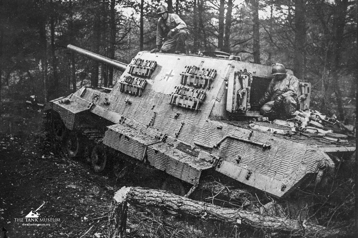 Jagdtiger 305004 Woods 6 April 1945 TTM