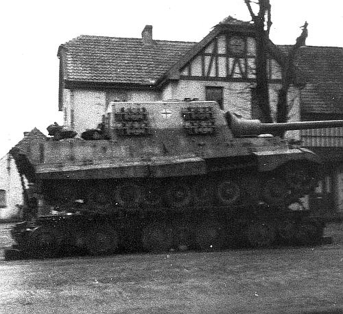 Jagdtiger Culemeyer side