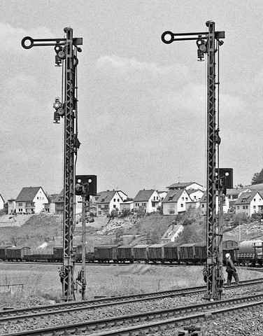 German railway signals 1