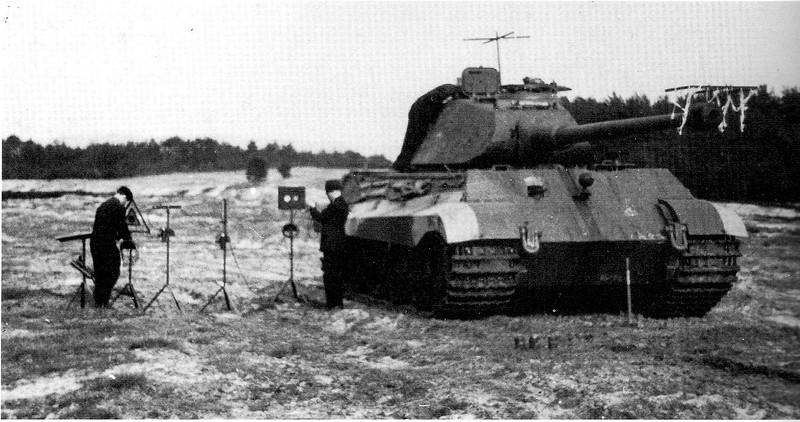 Tiger II live firing