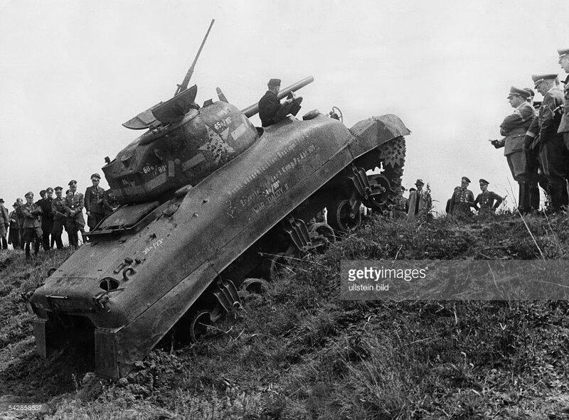 1 Sherman Climbing Hillersleben 6 1943