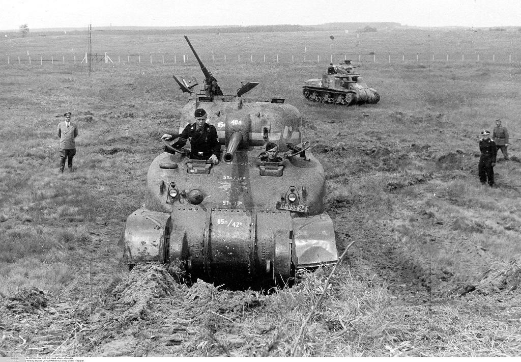 Sherman Hillersleben 6 1943