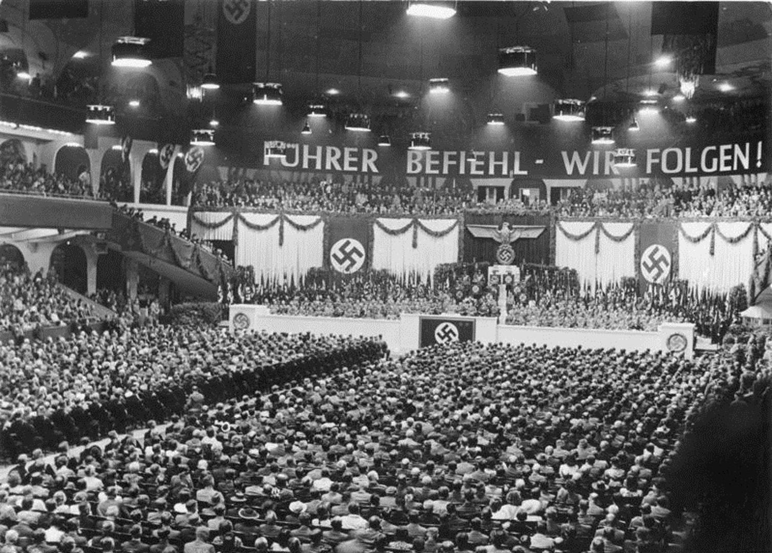 Rally at the Berliner Sportpalast 5 6 1943