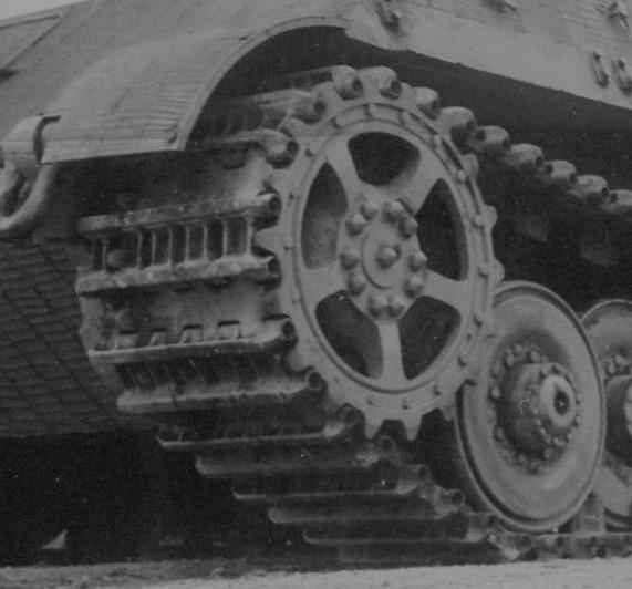 Jagdtiger 305009 Transport track