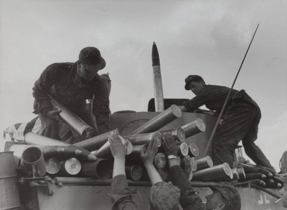 Tiger ammunition resupply