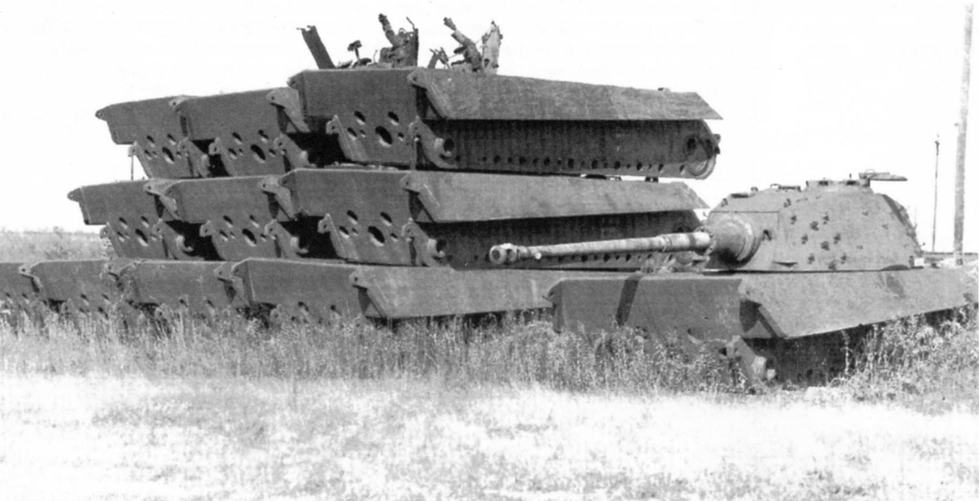 Raw steel Tiger II hulls
